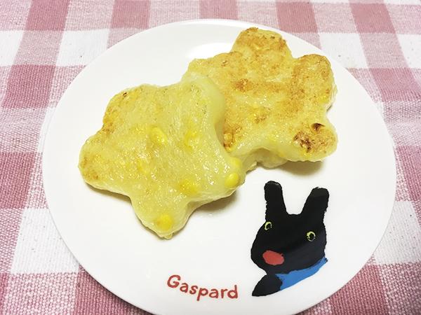 コーン入りじゃがいも餅(5人分)